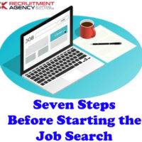 Seven Steps Before Starting the Job Search